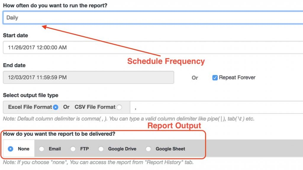 Export Shopify orders automatically with the Data Export - Reports app.