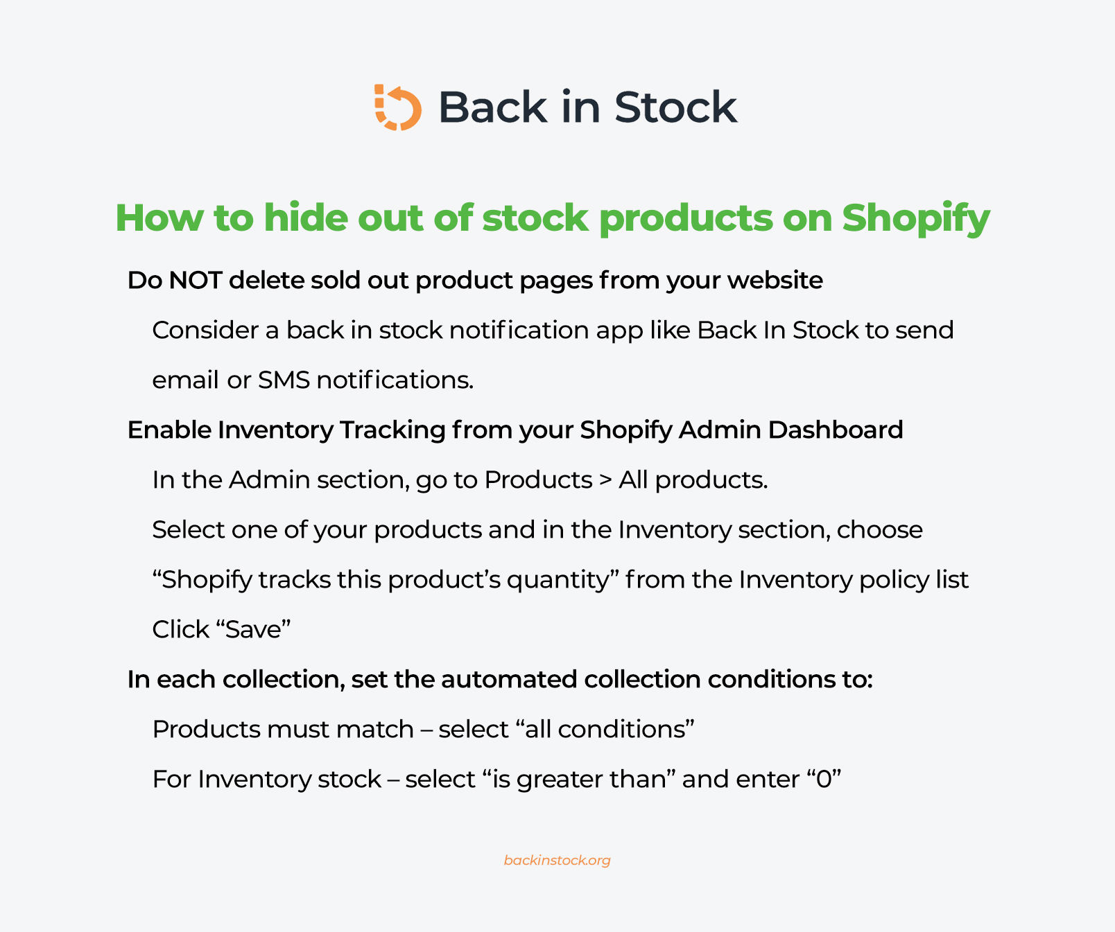 How to hide Shopify out of stock products