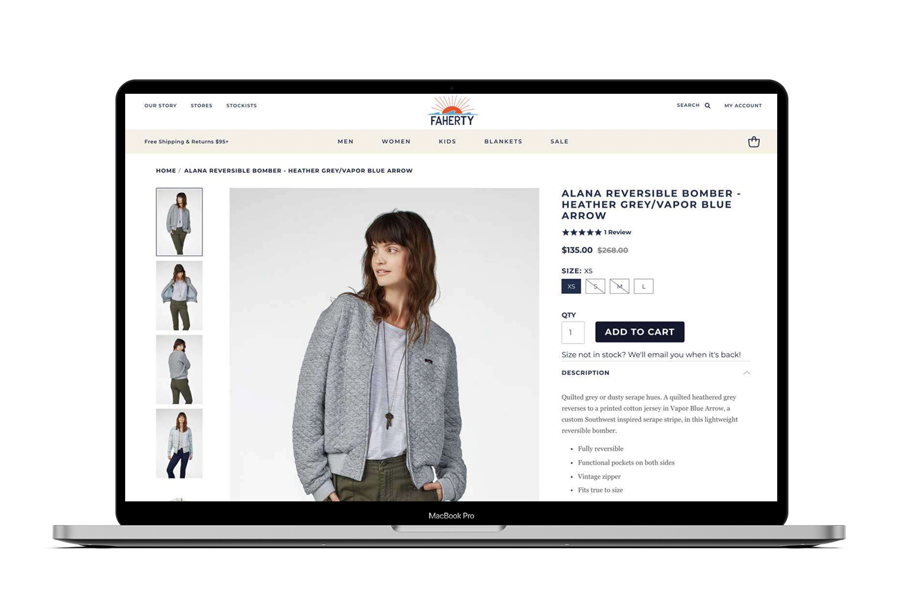 Shopify theme integrations for out of stock products